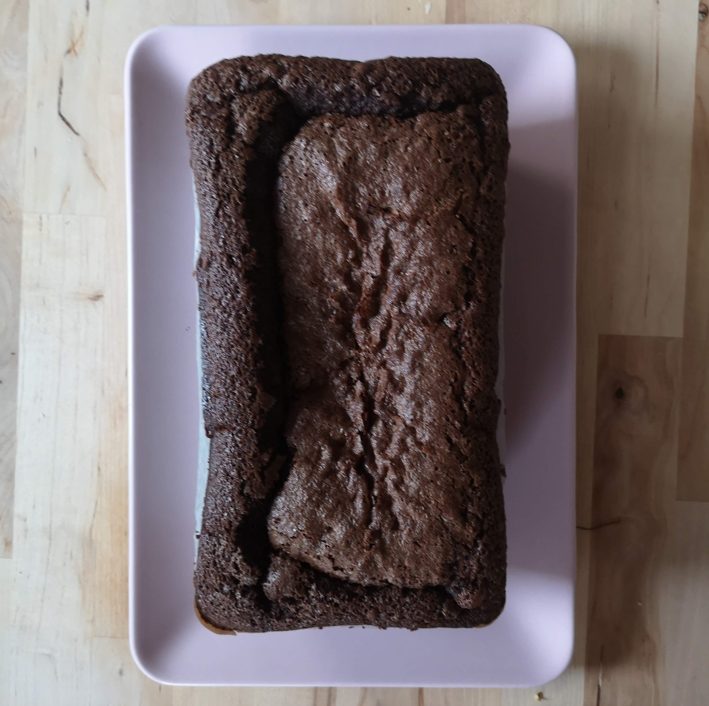 Nigella Lawson How to be A Domestic Goddess Dense Chocolate Loaf Cake